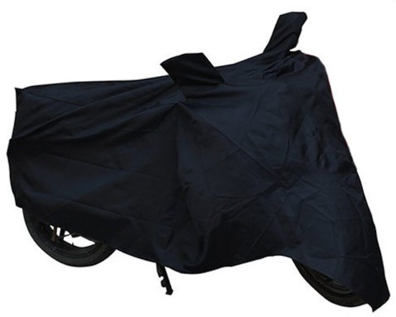 Bike World Two Wheeler Cover for Yamaha(RX 100, Black)