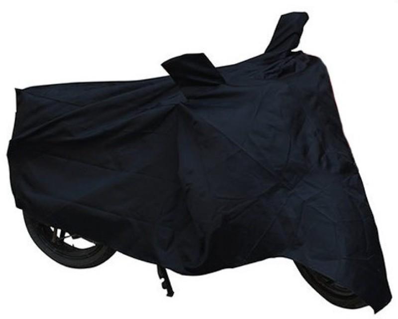 Bike World Two Wheeler Cover for Bajaj(Avenger 220 Cruise, Black)