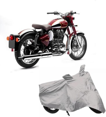 Auto Track Two Wheeler Cover for Royal Enfield