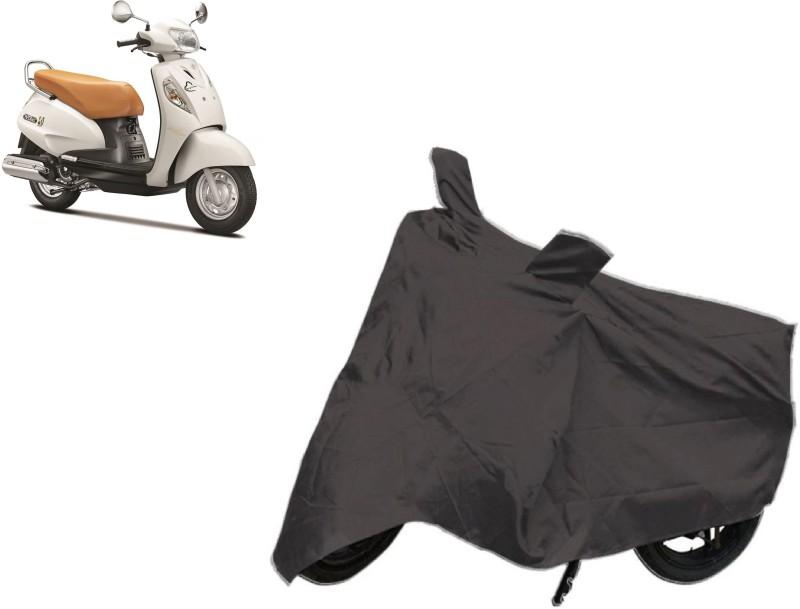 ACCESSOREEZ Two Wheeler Cover for Suzuki(Access SE, Black)