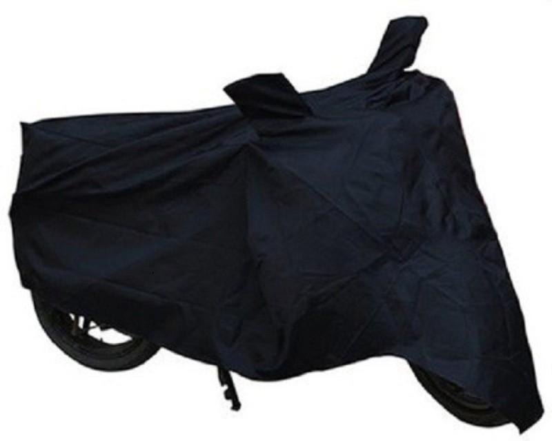 Auto Garh Two Wheeler Cover for Honda(CB Shine, Black)