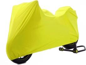 Time Two Wheeler Cover for Honda(CBR 150R, Yellow)