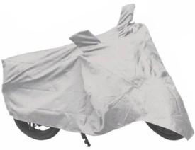 DrivingAID Two Wheeler Cover for Honda(CB Hornet 160, Silver)