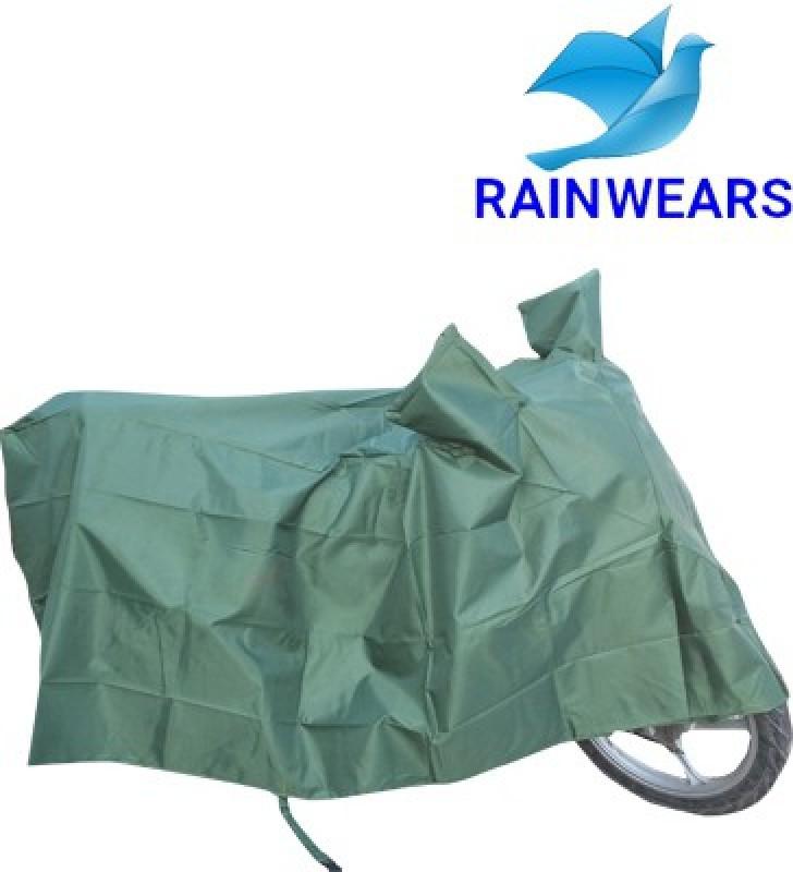 RAIN WEARS Two Wheeler Cover for Hero(Duet, Green)