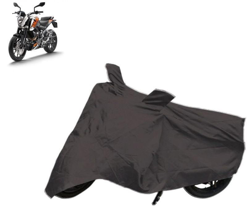 AutoKit Two Wheeler Cover for KTM(Duke 200, Grey)
