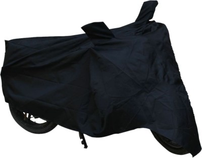 Vheelocityin Two Wheeler Cover for Royal Enfield(Classic 350, Black)