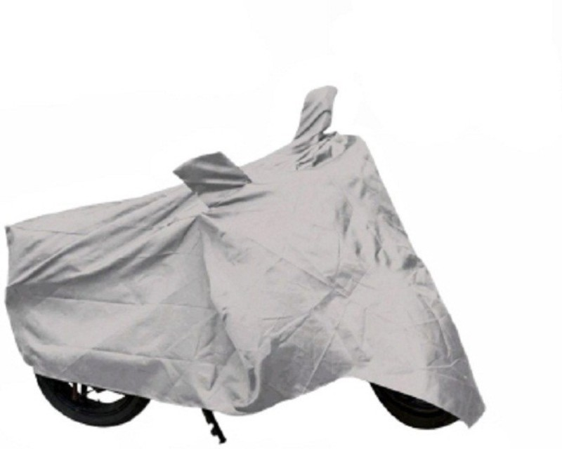 Retina Two Wheeler Cover for Bajaj(Avenger 220 DTS-i, Silver)