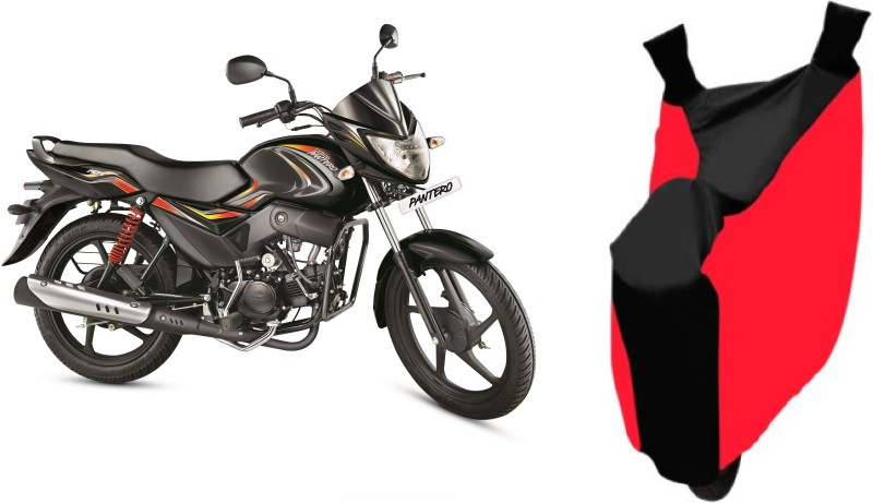 AutoKit Two Wheeler Cover for Mahindra(Pantero, Red, Black)
