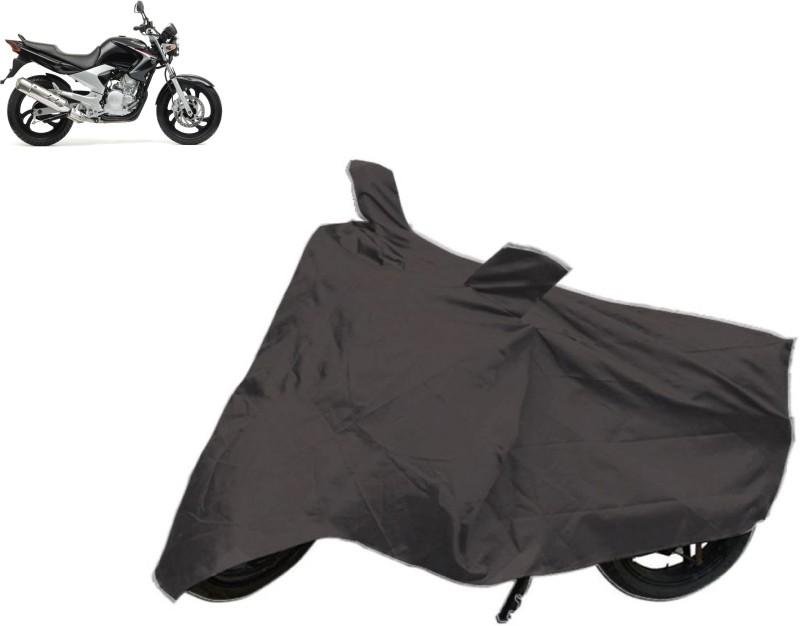 Bristle Two Wheeler Cover for Yamaha(YBR, Grey)