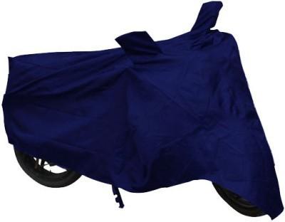 Mototrance Blue Universal For Bike Two Wheeler Cover