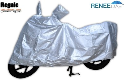 ReneeDae Two Wheeler Cover for Universal For Bike(Silver)