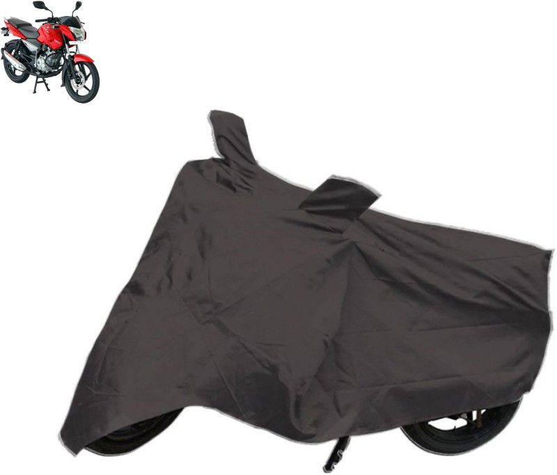 AutoKit Two Wheeler Cover for Bajaj(Pulsar, Grey)