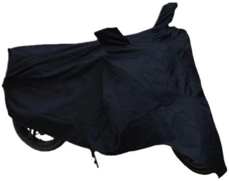 Retina Two Wheeler Cover for Universal For Bike(Black)