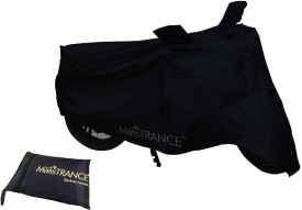 Mototrance Two Wheeler Cover for Hero(HF Deluxe, Black)