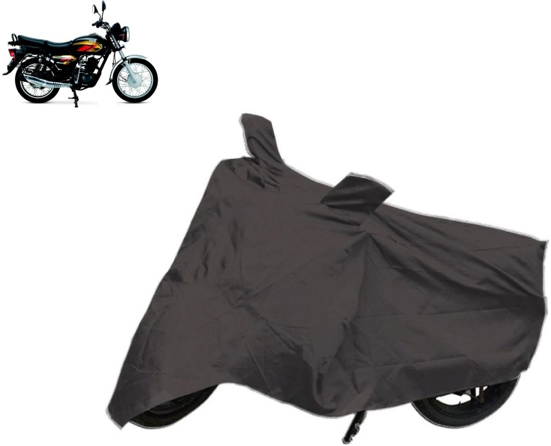 ACCESSOREEZ Two Wheeler Cover for TVS(Max 4R, Black)
