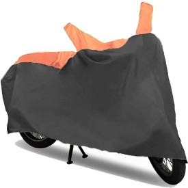 KazamaKraft Purple/OrangTop471 Two Wheeler Cover