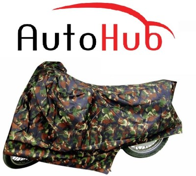 Auto Hub Two Wheeler Cover for Royal Enfield