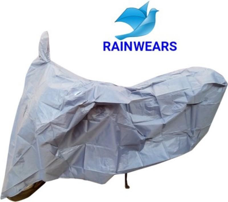 RAIN WEARS Two Wheeler Cover for TVS(Jupiter, Grey)
