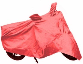 MotRoX Two Wheeler Cover for Hero(Hunk, Red)