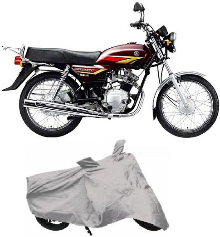 Autowheel Two Wheeler Cover for Yamaha(Crux, Silver)