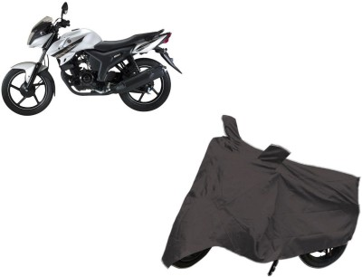 Red Silk Two Wheeler Cover for Yamaha