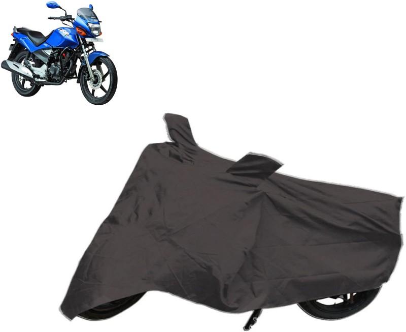 Autowheel Two Wheeler Cover for Honda(CBZ TYPE 1, Black)