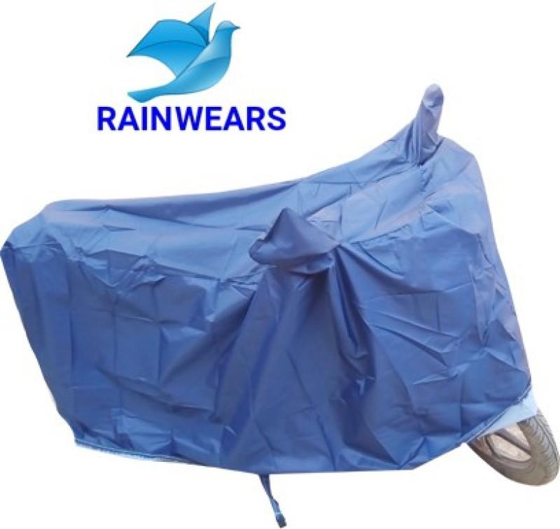 RAIN WEARS Two Wheeler Cover for Yamaha(FZ-S, Grey)