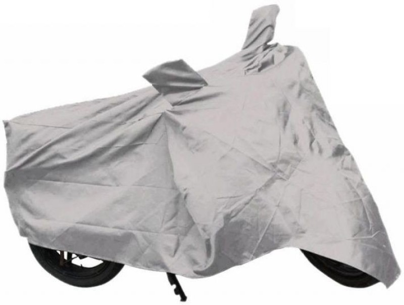 De AutoCare Two Wheeler Cover for Mahindra(Gusto, Silver)