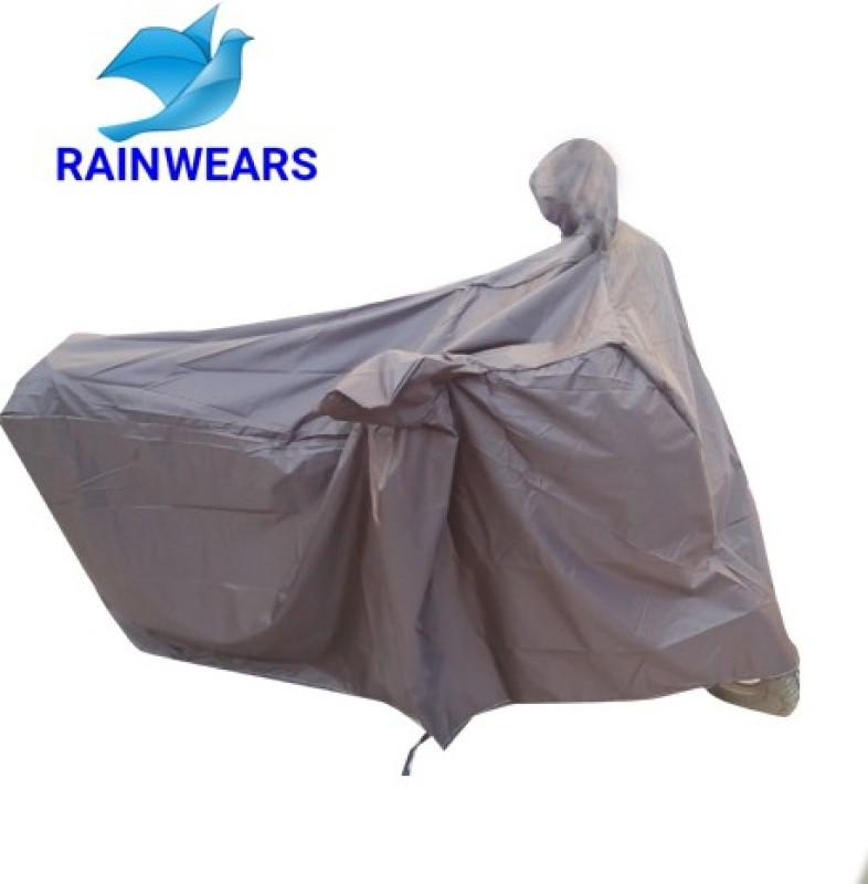 RAIN WEARS Two Wheeler Cover for TVS(Jupiter, Brown)
