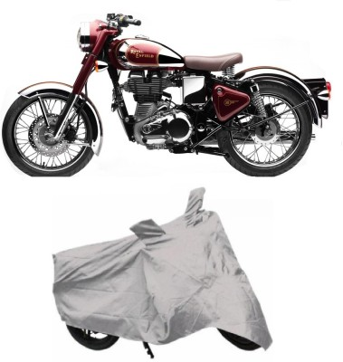 Auto Wheel Garage Two Wheeler Cover for Royal Enfield