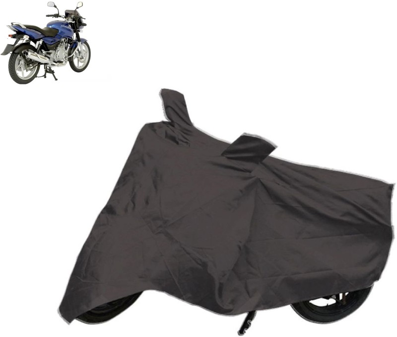 Autowheel Two Wheeler Cover for Bajaj(Pulsar 150, Black)