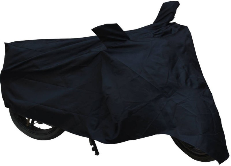 Cm Treder Two Wheeler Cover for Hero(CBZ, Black)