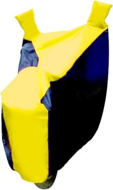 Auto Pearl Two Wheeler Cover for Bajaj(Pulsar 180 DTS-i, Yellow, Blue)