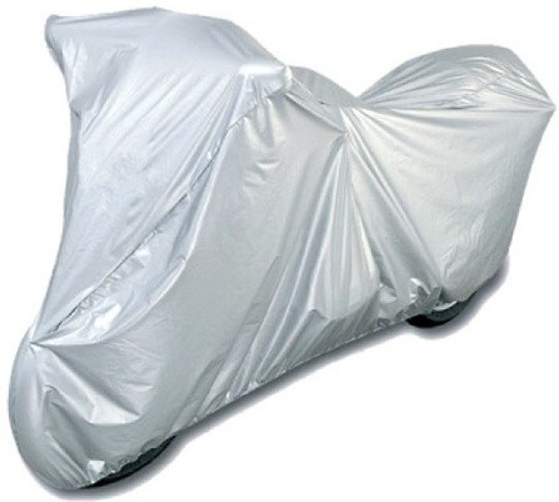 Ultra Fit Two Wheeler Cover for Royal Enfield(Bullet 350, Silver)