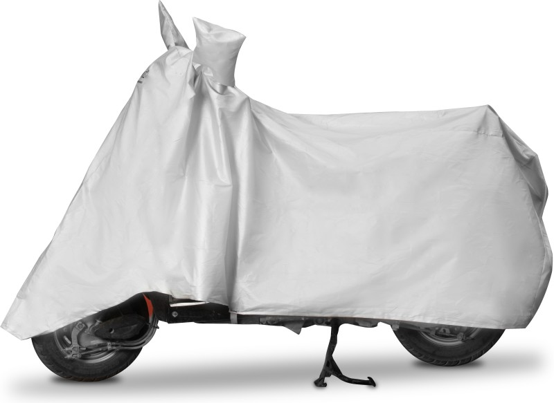 Enew Two Wheeler Cover for Universal For Bike(Silver)
