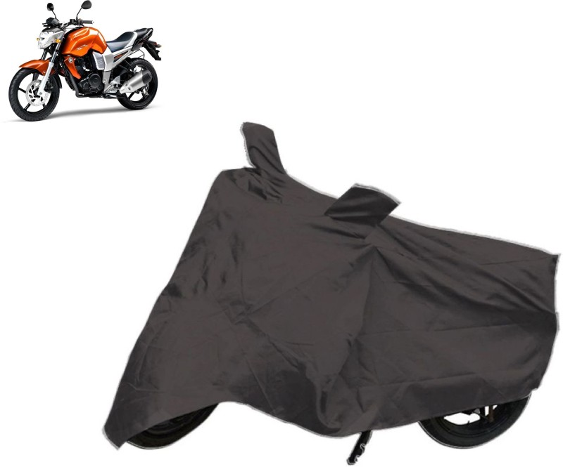 ACCESSOREEZ Two Wheeler Cover for Yamaha(FZ16, Black)
