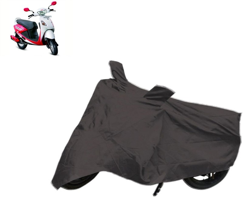 AutoKit Two Wheeler Cover for Hero(Pleasure, Grey)