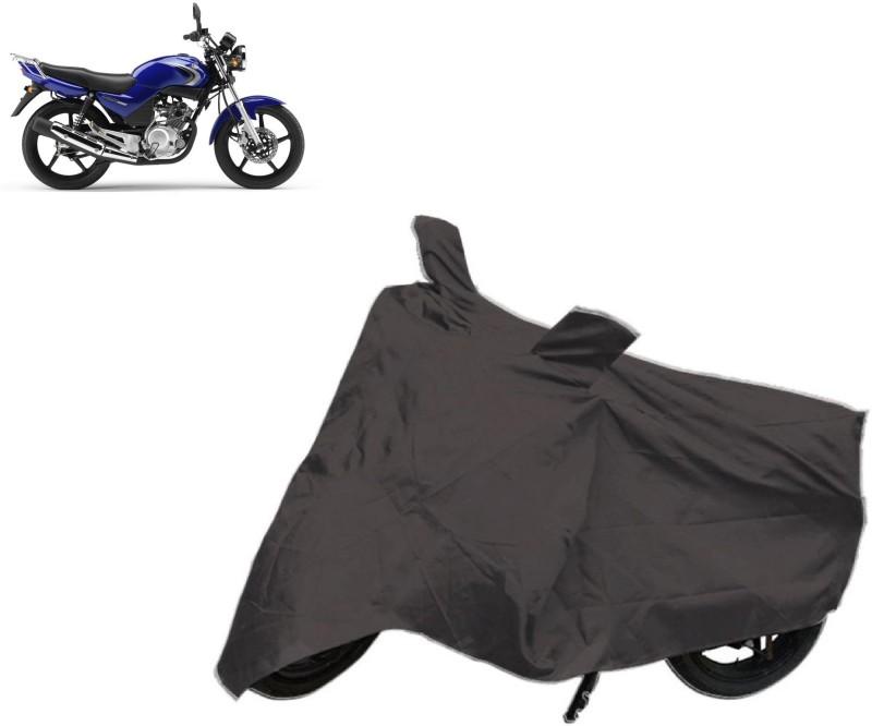 AutoKit Two Wheeler Cover for Yamaha(SS 125, Black)