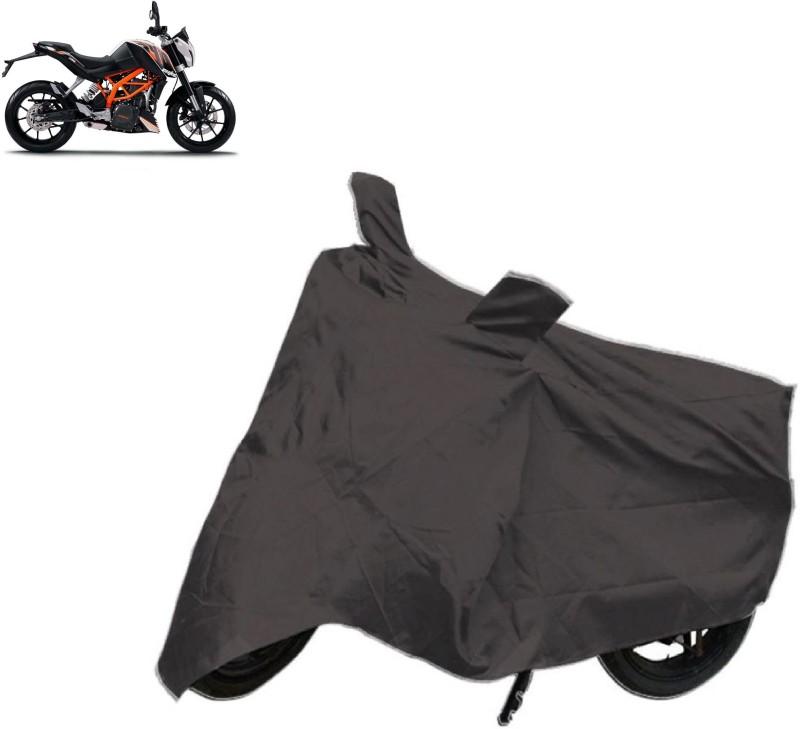 Autowheel Two Wheeler Cover for KTM(Duke 390, Black)