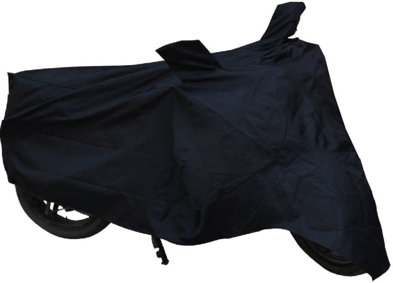 Ultra Fit Two Wheeler Cover for Bajaj(Pulsar 180 DTS-i, Black)