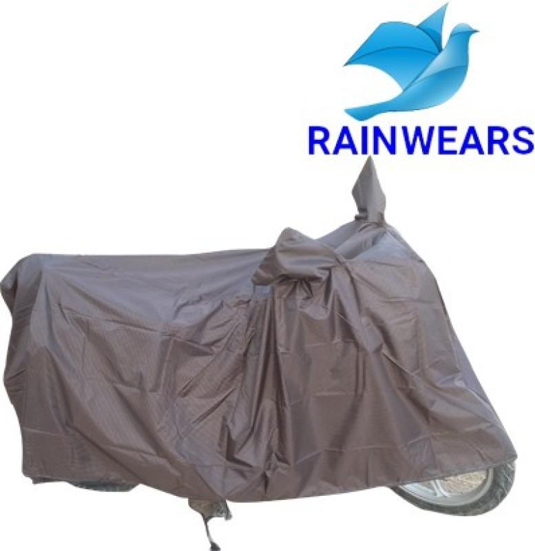 RAIN WEARS Two Wheeler Cover for Yamaha(Ray, Brown)