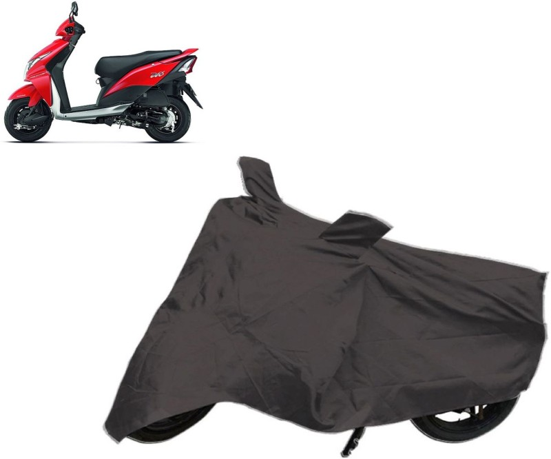 Autowheel Two Wheeler Cover for Bajaj(Discover, Black)