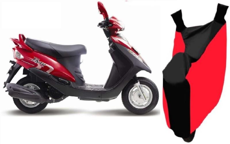 Bristle Two Wheeler Cover for Kinetic(Flyte, Red, Black)