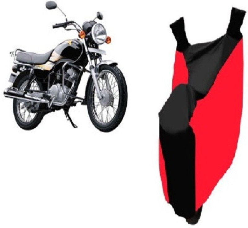 Bristle Two Wheeler Cover for TVS(Star, Red, Black)