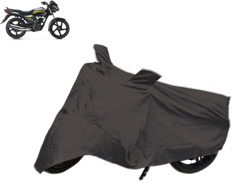 AutoKit Two Wheeler Cover for TVS(Star City, Grey)