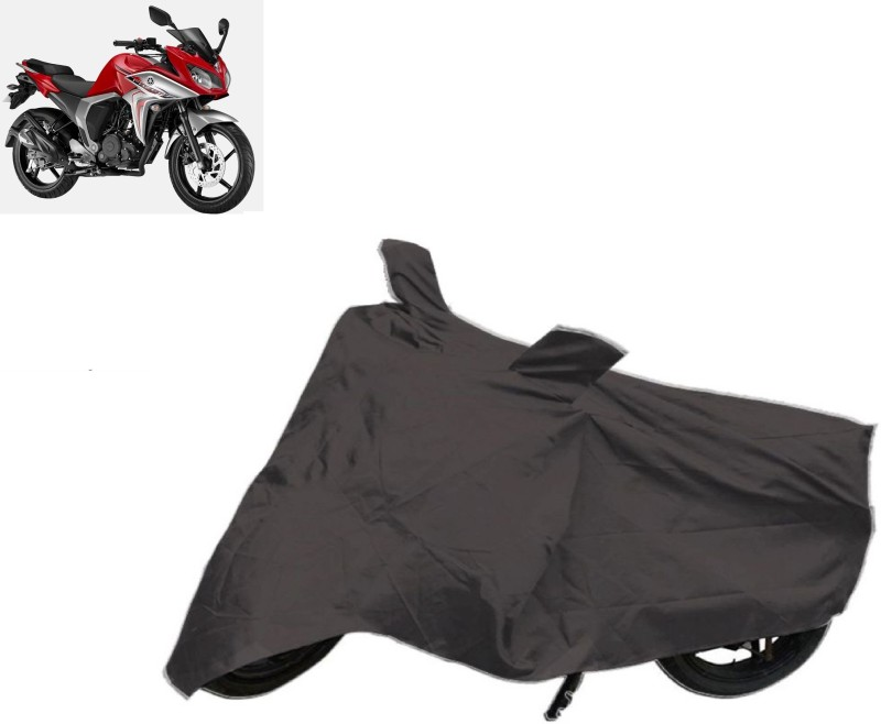 Autowheel Two Wheeler Cover for Yamaha(Fazer, Black)