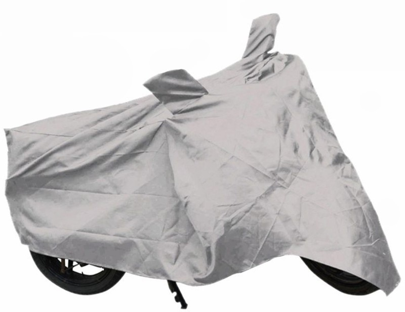BikeNwear Two Wheeler Cover for Honda(Passion Pro, Silver)