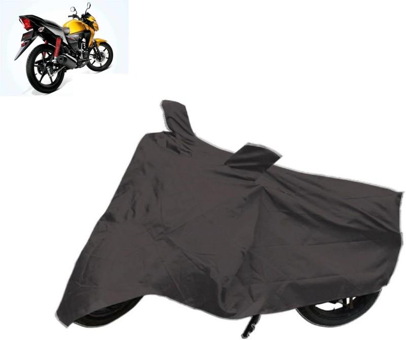 ACCESSOREEZ Two Wheeler Cover for Honda(CB Twister, Black)