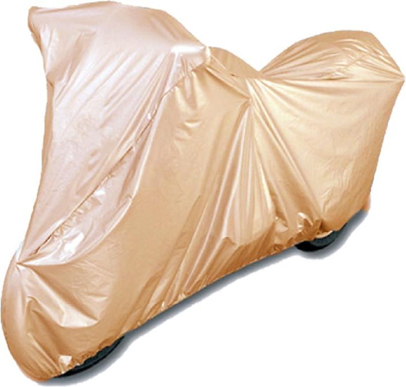 AAdroitz Two Wheeler Cover for Honda(CB, Beige)