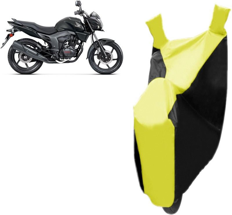 Autowheel Two Wheeler Cover for Honda(Trigger, Black, Yellow)